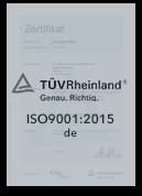 ISO 9001 : 2015 | AD 2000-WO| KTA 1401 | AVS D 100/50 | Zertifizierte Qualität in der Schmiedetechnik und Stahlverarbeitung | Chr. Höver & Sohn GmbH