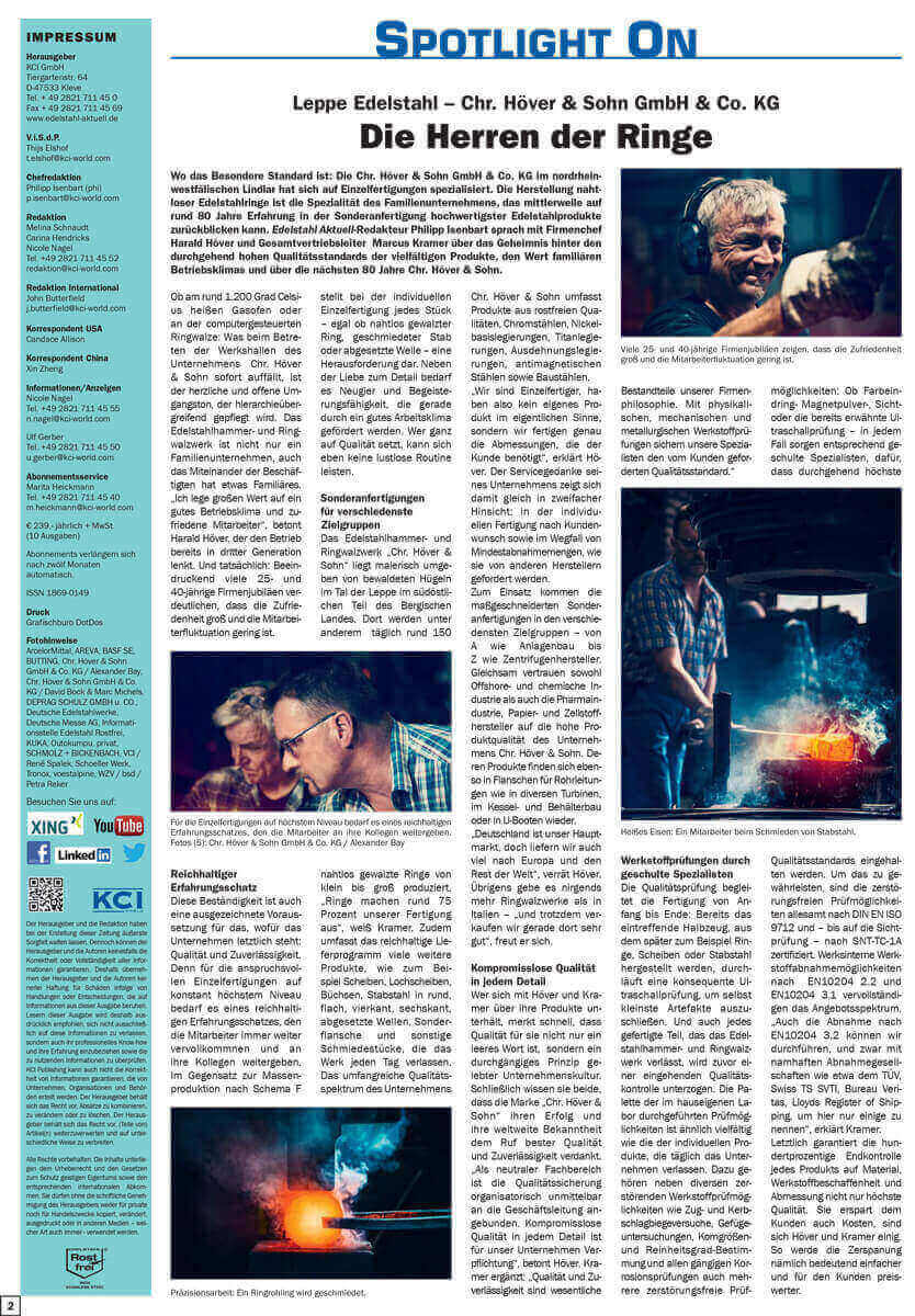 Newsartikel Die Herr der Ringe Preview - Die Herren der Ringe - Chr. Höver & Sohn GmbH - Presseartikel