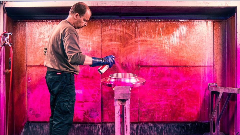 Schmiedetechnik - Formgebung im Ringwalzwerk und Schmiede - Leppe-Edelstahl | Chr. Höver & Sohn - Zertifzierte Präzision für die Industrie (Produktion)