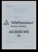 AD 2000-WO - Zertifizierter Produzent | Leppe-Edelstahl | Höver & Sohn - Maßgeschneiderte Produktion und Formgebung von Stahl - Lindlar | NRW