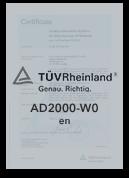 AD2000-WO - Zertifizierter Produzent | Leppe-Edelstahl | Höver & Sohn - Maßgeschneiderte Produktion und Formgebung von Stahl - Lindlar | NRW