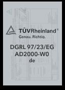 DGRL-97-23-EG - Zertifizierter Produzent Leppe-Edelstahl Höver & Sohn - Maßgeschneiderte Produktion und Formgebung von Stahl - Lindlar | NRW