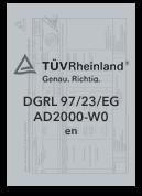 DGRL-97-23 - Zertifizierter Produzent | Leppe-Edelstahl | Höver & Sohn - Maßgeschneiderte Produktion und Formgebung von Stahl - Lindlar | NRW