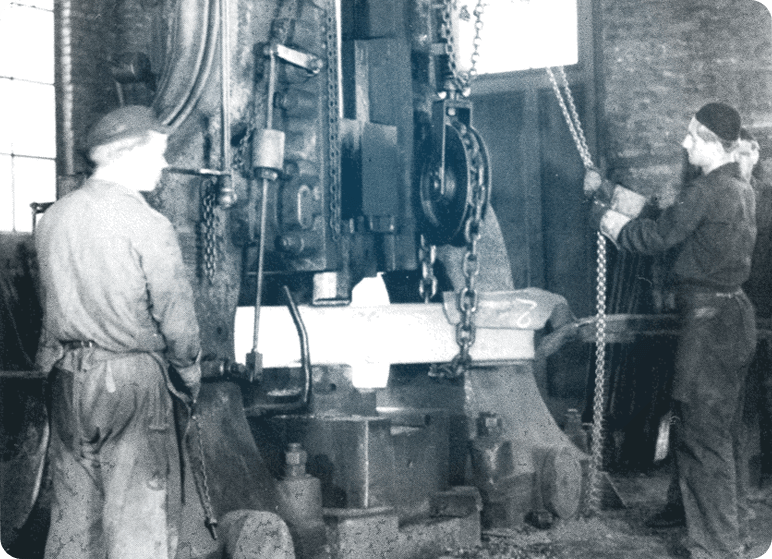 Unternehmen History - Unternehmen - Leppe-Edelstahl - Chr. Höver & Sohn GmbH & Co. KG